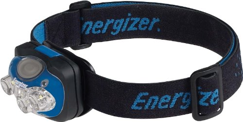Energizer エナジャイザー プロ7 ヘッドライト ヘッドランプ Pro 7 LED Industrial Headlamp, Blue/Black, 3AAA Batteries Included