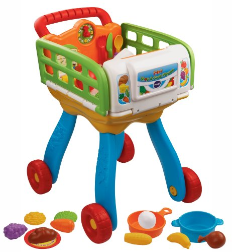 VTech 2-in-1 ショップ&クック プレイセット Shop and Cook Playset