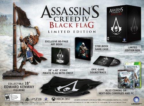 Assassin's Creed IV アサシンクリード4 北米版 Black Flag Limited Edition - Playstation 3