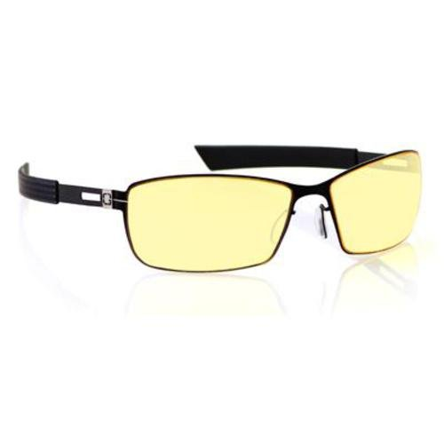 Gunnar ガンナー ゲーム・PC・パソコン用メガネ Optiks VAY-00101 Vayper Full Rim Advanced Video Gaming Glasses with Headset Compatibility and Amber Lens Tint, Onyx Frame Finish
