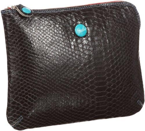 GABS ガブス レディース カードケース ブラック GPAD ID & Card Wallet Womens Black Schwarz (nero 2000) Size: 33x19x17 cm (H x W x D) (25x20x1 cm (B x H x T) EU)