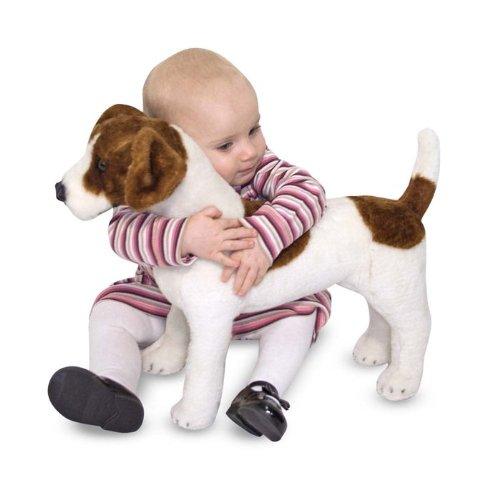 Melissa & Doug メリッサ&ダグ ジャックラッセルテリア ぬいぐるみ Jack Russell Terrier - Plush