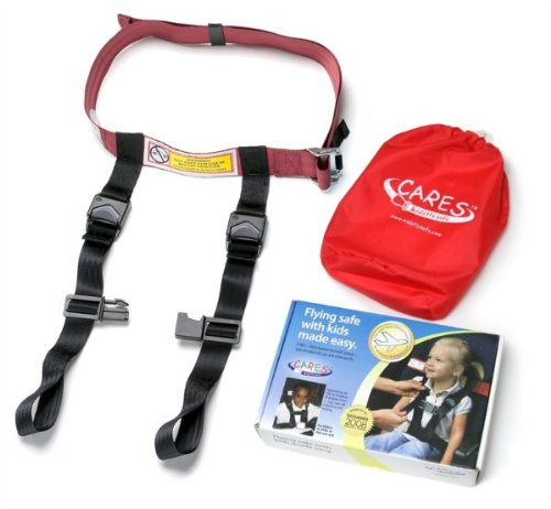 CARES Child Airplane Travel Harness 飛行機 子供用 トラベルハーネス Cares Safety Restraint System - The Only FAA Approved Child Flying Safety Device