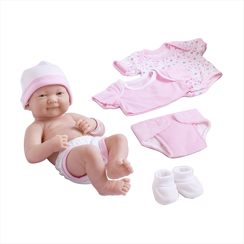 Berenguer Dolls JC Toys La Newborn 赤ちゃん 新生児 人形 フィギュア (Expressions May Vary)
