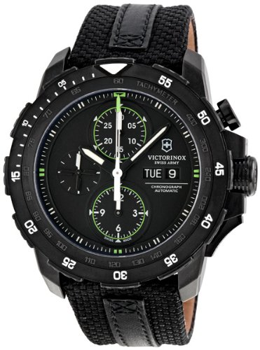 Victorinox Swiss Army ビクトリノックス スイスアーミー メンズ腕時計 Alpnach Chronograph Black Dial Mens Watch 241527