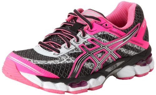ASICS アシックス レディースランニングシューズ Women's GEL-Cumulus 15 Lite-Show Running Shoe,Black/Onyx/Flash Pink