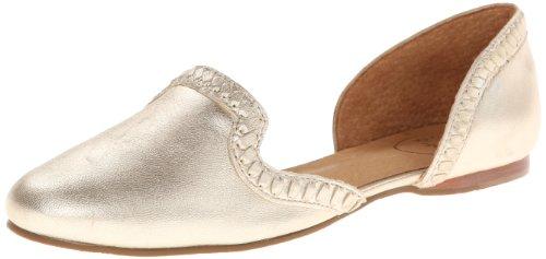 Jack Rogers ジャックロジャース レディース バレエ・フラットシューズ Women's Contessa Ballet Flat,Platinum