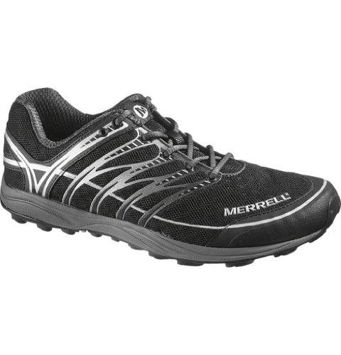 Merrell メレル メンズ ランニングシューズ ミックスマスター2 Men's Mix Master 2 Minimal Trail Running Shoe,Black/Silver