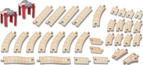 きかんしゃトーマス 木製レール Thomas and Friends Wooden Railway - 5-in-1 Track Layout Pack