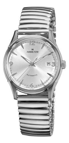 """ハミルトン メンズ 腕時計 Hamilton Men""""s H38715281 Timeless Class Silver Dial Watch"""