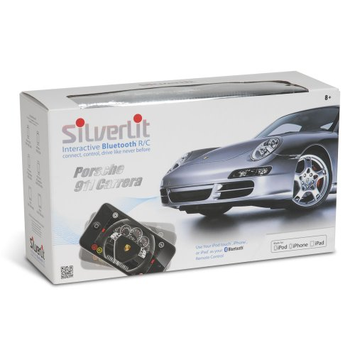 シルバーリット ポルシェ 911 ラジコン Silverlit Bluetooth 1:16 Porsche 911 for iPod, iPhone, and iPad