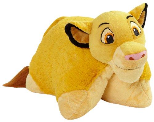 ディズニー ライオン・キング シンバ まくら 寝具 My Pillow Pets Authentic Disney Simba 18-Inch Folding Plush Pillow, Large