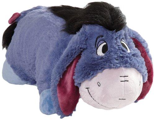 ディズニー イーヨ まくら 寝具 My Pillow Pets Authentic Disney Eeyore Folding Plush Pillow, 18-Inch