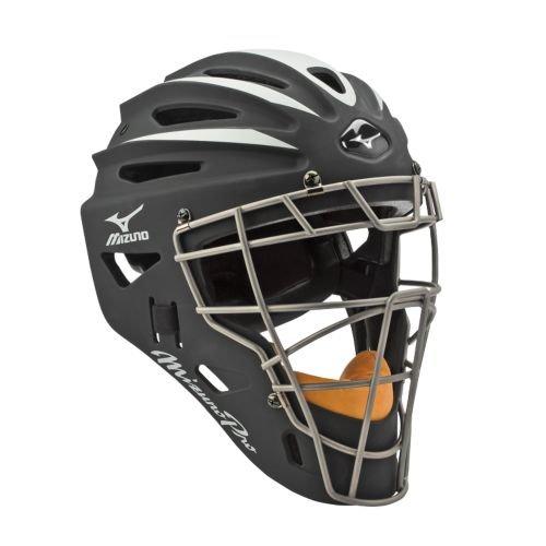 USAミズノ サムライ G2シリーズ 硬式用 キャッチャーマスク ブラック Mizuno G2 Pro Catcher's Helmet, Black