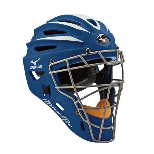 USAミズノ サムライ G2シリーズ 硬式用 キャッチャーマスク ネイビー Mizuno G2 Pro Catcher's Helmet, Navy