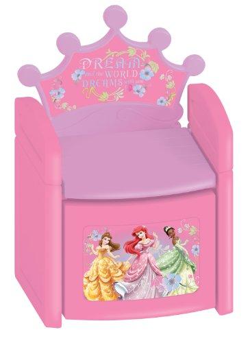 ディズニー プリンセス 子供用イス Kids Only Disney Princess Nouveau Sit N Store Chair