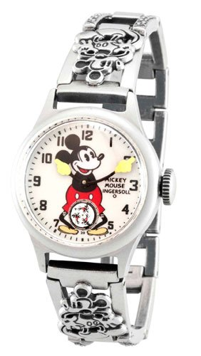 インガーソル ユニセックス ミッキーマウス 腕時計 Ingersoll Unisex IND 25832 Ingersoll Mickey Mouse 30's Collection Bracelet Mechanical Watch