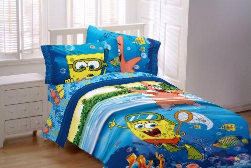 スポンジ・ボブ 寝具 掛け布団 ツイン Sponge Bob Sea Adventure Twin Comforter