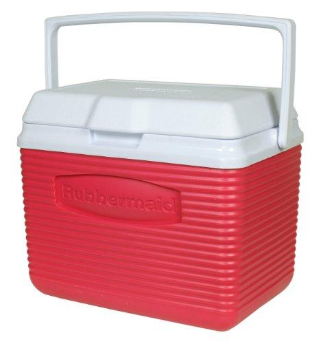 ラバーメイド 収納ボックス クーラーボックス 10クォート(9.4リットル) Rubbermaid 10-Quart Personal Cooler, Pink
