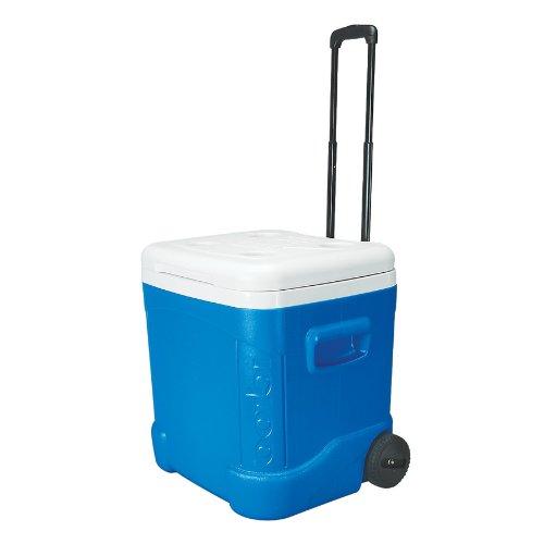 日本限定 イグルー アイスキューブ クーラーボックス (60-Quart, 56.7リットル Blue) アイスキューブ Igloo Ice Cube Roller Cooler (60-Quart, Ocean Blue), 島道具:e5f5f9a2 --- business.personalco5.dominiotemporario.com