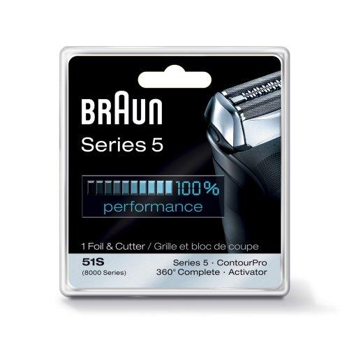 ※メール便発送のため代引きはご利用頂けません※ブラウン シェーバー シリーズ5 交換カセット Braun Series 5 Combi 51s Foil And Cutter Replacement Pack (F/C51S-4と互換品)