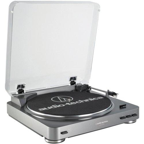 オーディオ テクニカ ターンテーブル Audio Technica AT-LP60USB Fully Automatic Belt Driven Turntable with USB Port