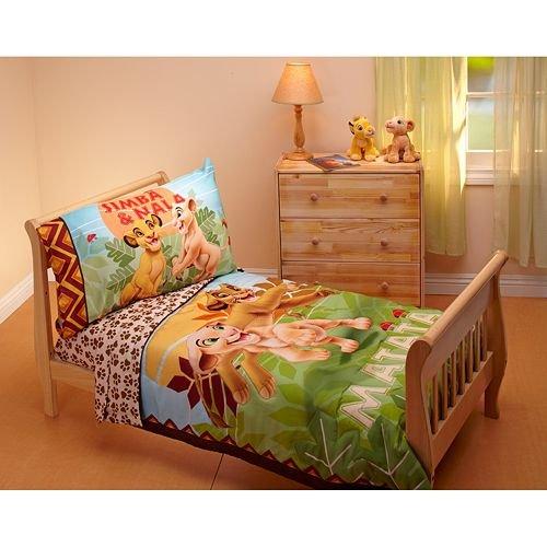 ディズニー ライオンキング 寝具 4点セット Disney Lion King 4 Piece Toddler Bedding Set