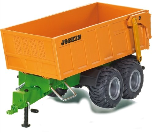 ジク 6780 トレーラー Siku 6780 - RC Twin Axled Tandem Trailer (With Storage Battery)