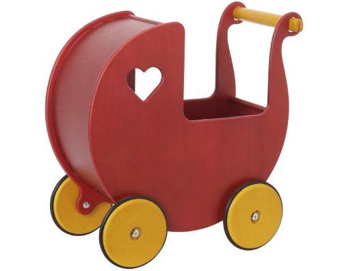 上等な ムーバー レッド うばぐるま 赤 レッド Moover Wooden Dolls 赤 Moover Pram (Red), フォーマルショップ 礼装倶楽部:1a8f3289 --- canoncity.azurewebsites.net