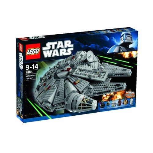 LEGO 7965 Star Wars Millennium Falcon レゴ スターウォーズ ミレニアムファルコン Darth Vader Luke Skywalker Han Solo
