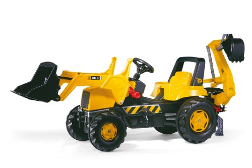 Rolly ロリートイズ フロントローダー トラクター JCB Tractor with Frontloader and Rear Excavator