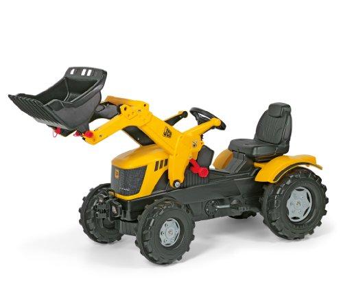 ロリートイズ トラクター フロントローダー Rolly Toys JCB 8250 V-tronic Tractor with Frontloader
