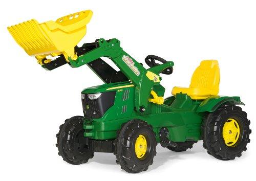 ロリートイズ トラクター フロントローダー ジョンディア Rolly Toys John Deere 6210r Tractor with Frontloader