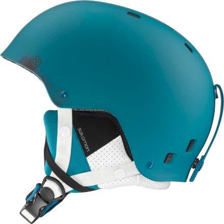 Salomon Brigade サロモン ブリゲイド スキーヘルメット メンズ ブルーマット Ski Helmet