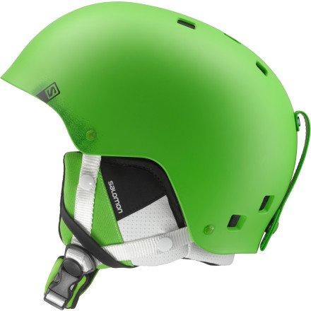 Salomon Brigade サロモン ブリゲイド スキーヘルメット メンズ グリーンマット Ski Helmet