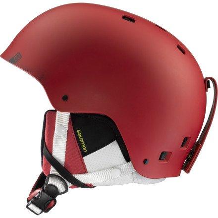 Salomon Brigade サロモン ブリゲイド スキーヘルメット メンズ レッドマット Ski Helmet