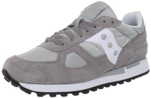 Saucony Originals サッカニー オリジナル メンズ シャドウ Shadow Original Sneaker,Grey/White