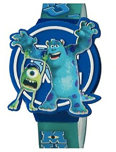 ディズニー 腕時計 キッズ 時計 子供用 モンスターズインク ユニバーシティー マイク サリー Disney Monsters University Kids LCD Watch with Molded Flip TopOZiTuPkwX
