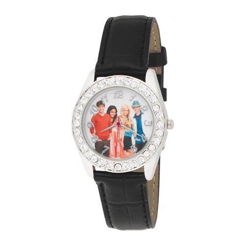 ディズニー 腕時計 キッズ 時計 子供用 ハイスクール ミュージカル High School Musical Kids' HSM107 Crystal Accented WatchCxeBrWdo