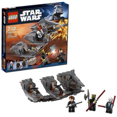 多様な レゴ レーサー レーサー レゴ スターウォーズ シス ナイトスピーダー ナイトスピーダー LEGO Star Wars Sith Nightspeeder 7957, 【爆売り!】:22fee8d6 --- kventurepartners.sakura.ne.jp