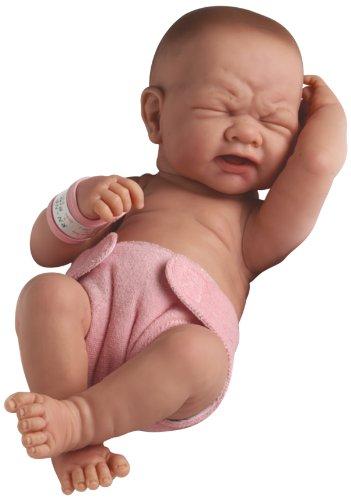 【最安値挑戦!】 JC Toys 赤ちゃん 新生児 Girl 人形 フィギュア La フィギュア ドール La Newborn First Tear- Real Girl, スイフムラ:4517296f --- bungsu.net