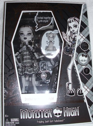 モンスターハイ 人形 ドール フィギュア フランキー・シュタイン Monster High Exclusive Black & White Frankie Stein Doll 5,000 Made