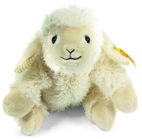 Steiff 281280 シュタイフ ぬいぐるみ 子羊 ヒツジ 16cm Little Floppy Linda Lamb (Cream)