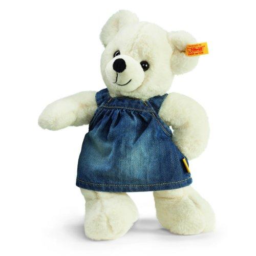 【日本産】 Steiff 113307 シュタイフ シュタイフ ぬいぐるみ Dress テディベア (White) Lara Teddy Bear with Jeans Dress (White), ジュエリープロデューサーSHINCOKI:d0260fd3 --- kventurepartners.sakura.ne.jp
