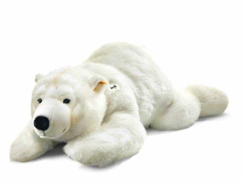 Steiff 063060 シュタイフ ぬいぐるみ シロクマ ホッキョクグマ 120cm Arco Polar Bear Lying (White)