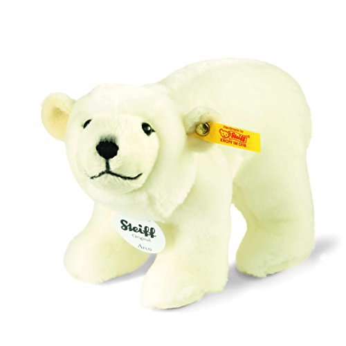 【在庫処分】 Steiff 62957 62957 シュタイフ ぬいぐるみ Arco シロクマ ぬいぐるみ ホッキョクグマ Arco Polar Bear (White), 中田町:e819ac0f --- bungsu.net