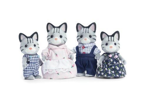 シルバニアファミリー 人形 キャット ネコ ファミリー Calico Critters Fisher Cat Family