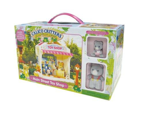 シルバニアファミリー 人形 おもちゃ屋 Calico Critters Main Street Toy Shop