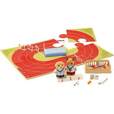 シルバニアファミリー 人形 運動会 スポーツ大会セット Sylvanian Families Sylvanian Games Athletics Set