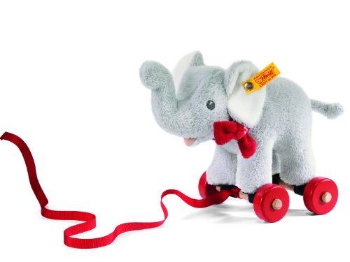 激安超安値 Steiff 238246 シュタイフ ぬいぐるみ エレファント 18cm) ゾウ Pull-Along エレファント Animal Elephant ぬいぐるみ Trampili (Grey, 18cm), 八百津町:4c1be21d --- kventurepartners.sakura.ne.jp